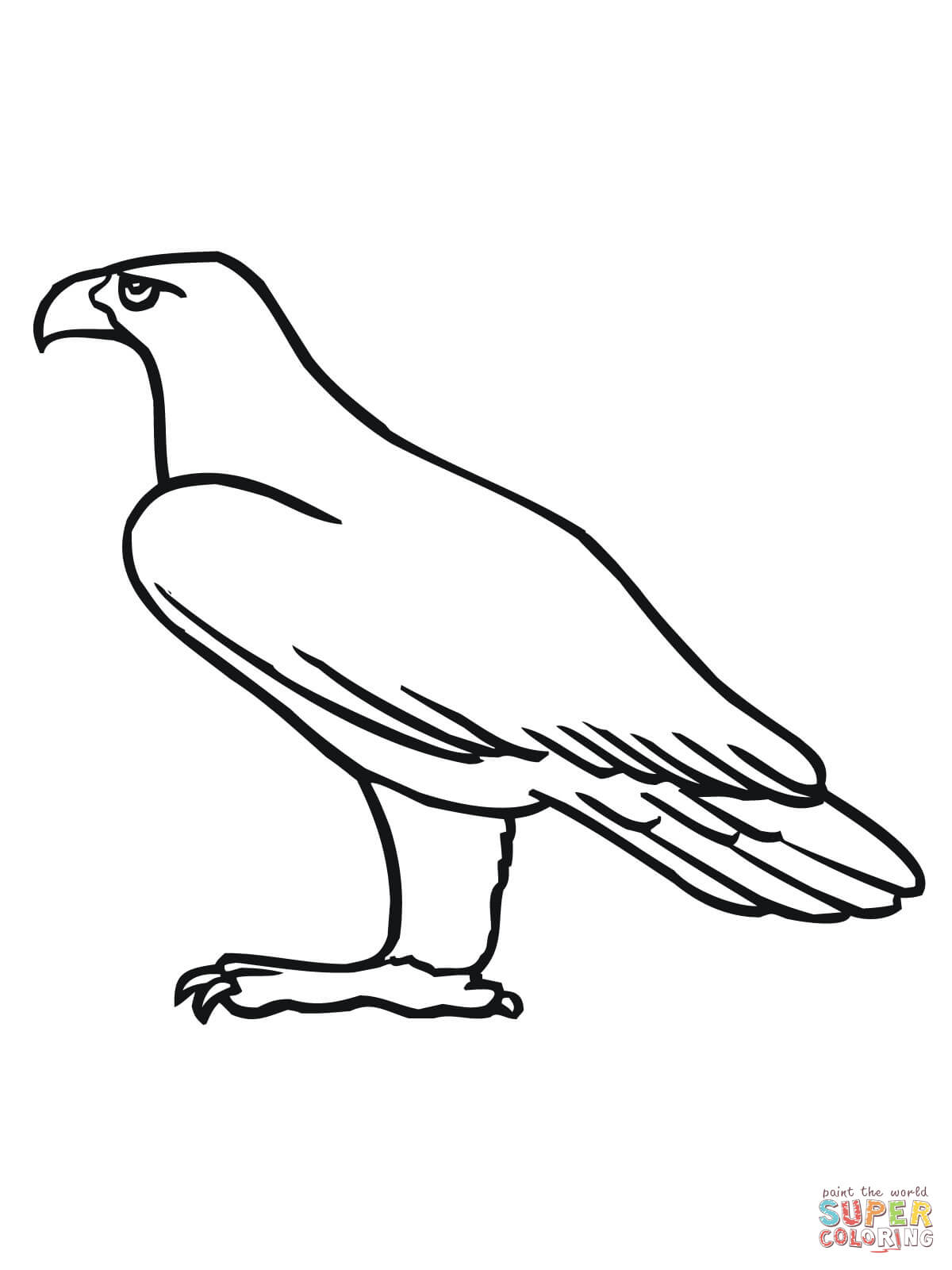 55 dibujos de guilas para colorear oh kids page 5 - Comment dessiner un aigle royal ...