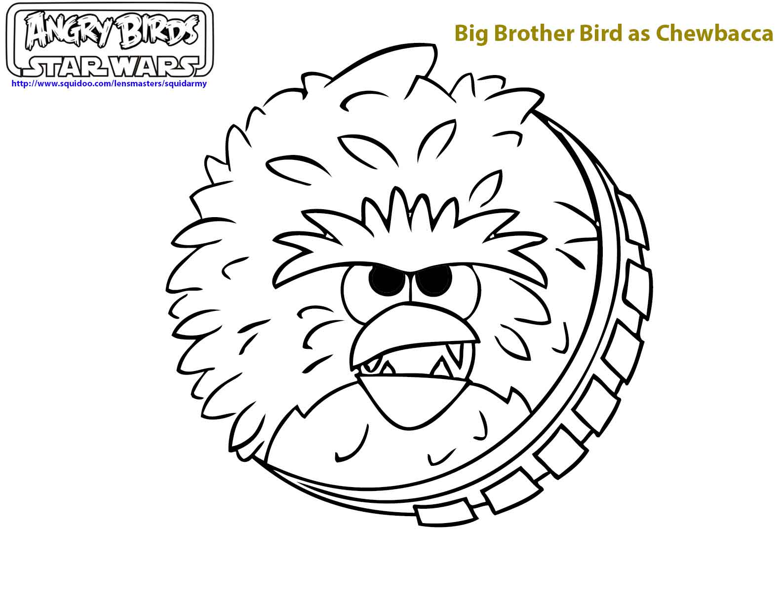 126 dibujos de Angry birds para colorear | Oh Kids | Page 1