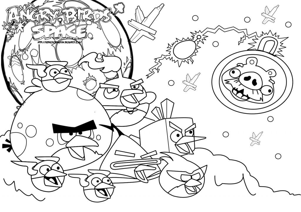 126 dibujos de Angry birds para colorear   Oh Kids   Page 2