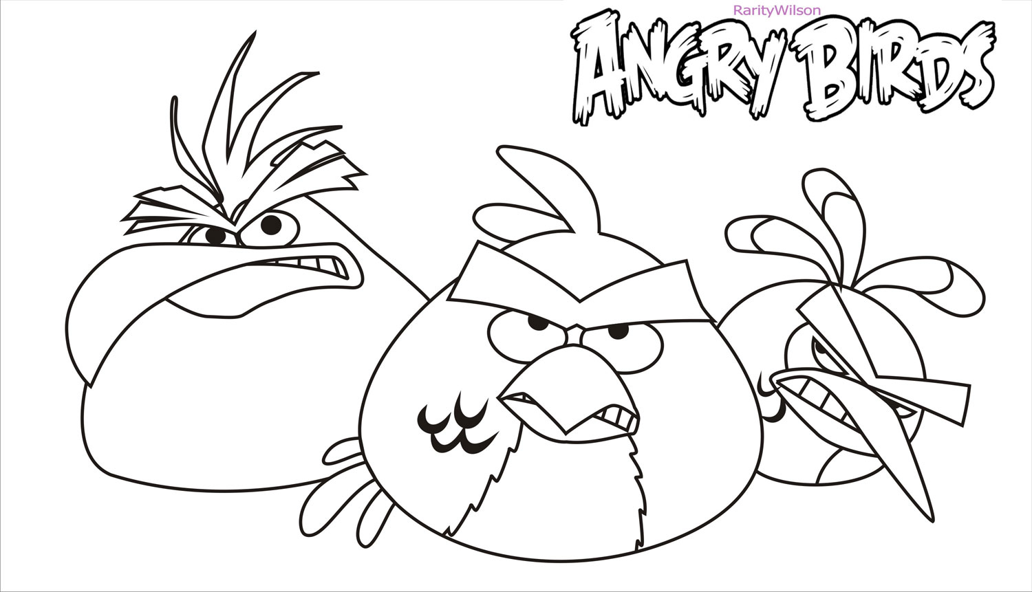 Dibujos Para Colorear Angry Birds Star Wars. Affordable Red Angry ...