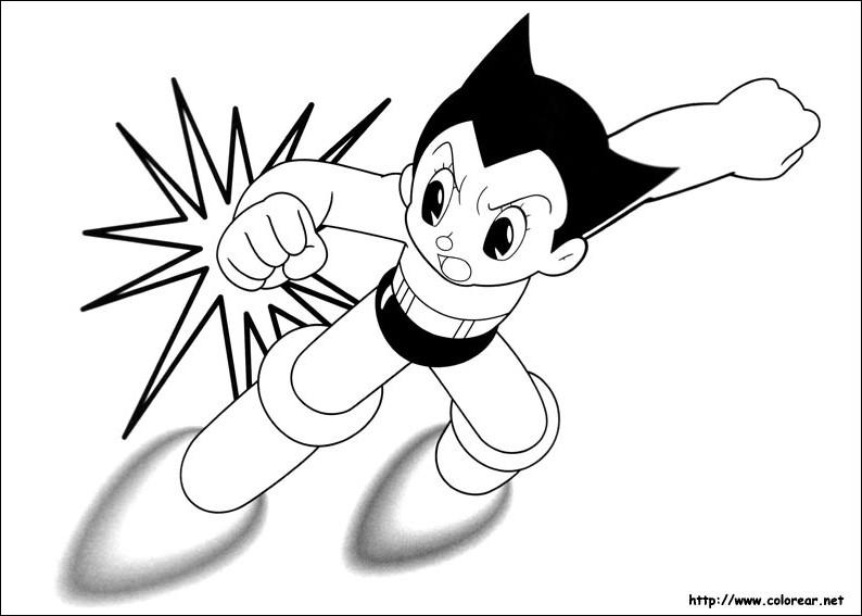 65 dibujos de Astro boy para colorear | Oh Kids | Page 1