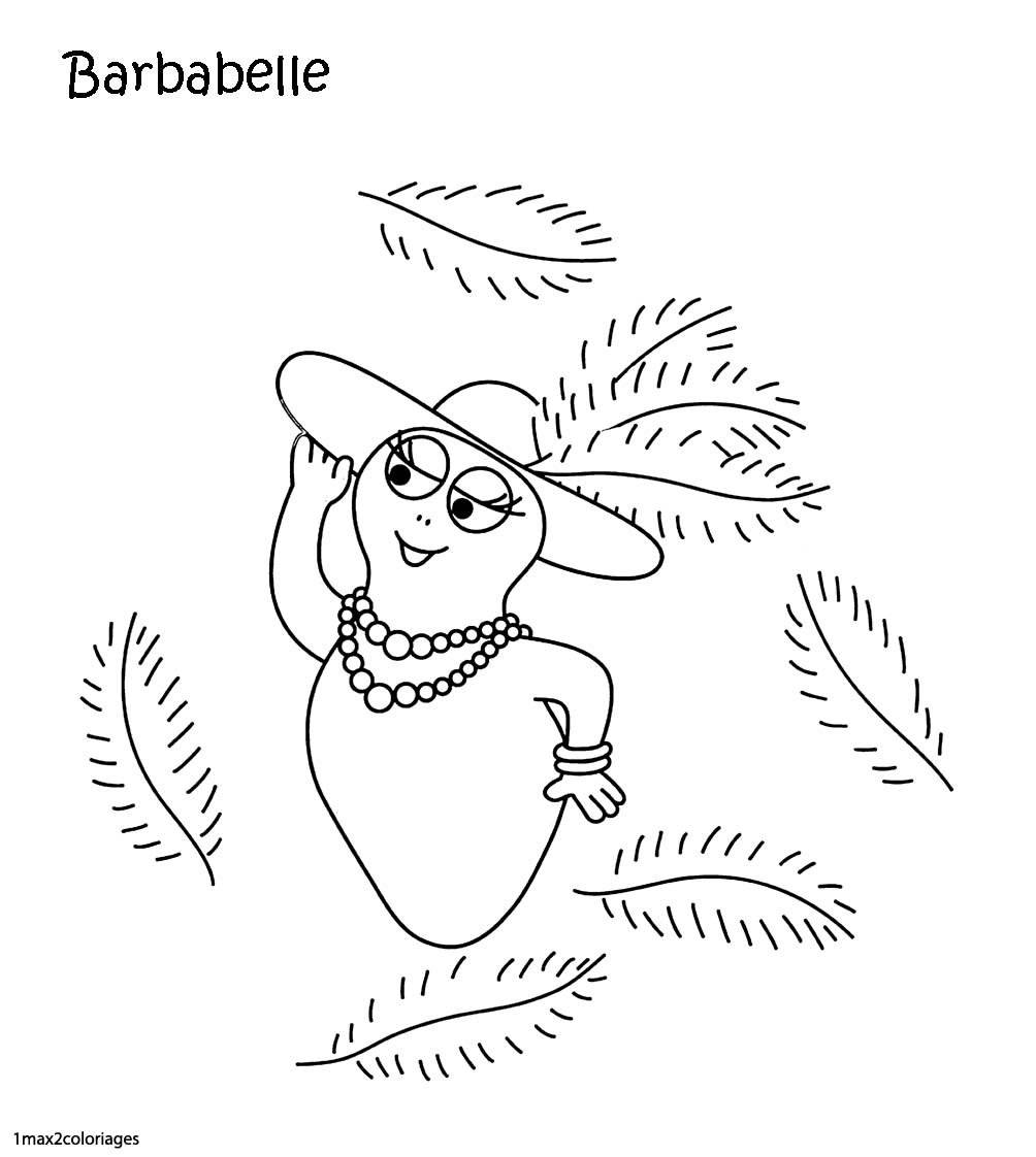 108 dibujos de Barbapapa para colorear   Oh Kids   Page 11