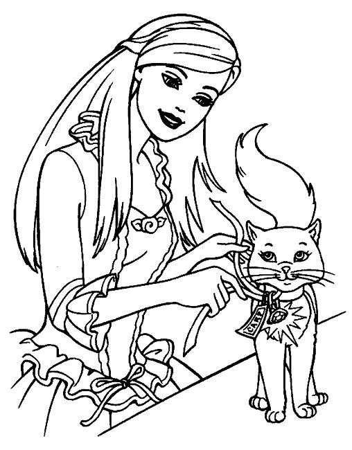 164 dibujos de Barbie para colorear | Oh Kids | Page 9
