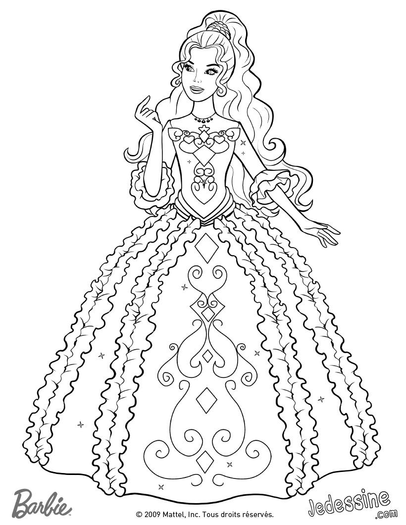 Perfecto Barbie Para Colorear Galería - Ideas Para Colorear ...