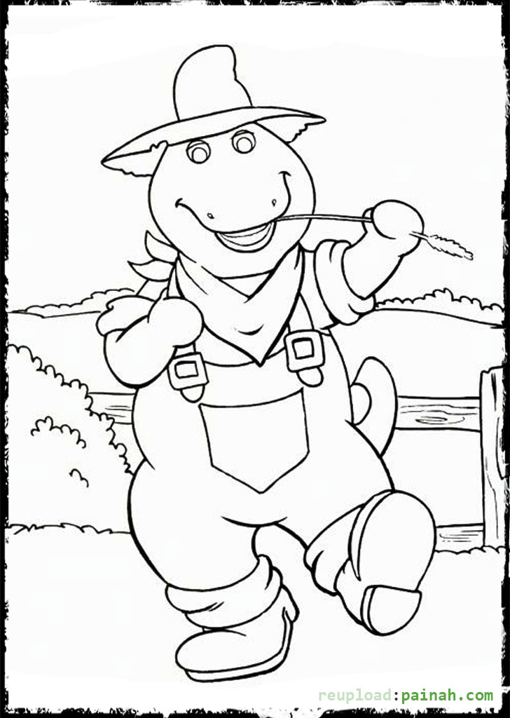 coloring book western pages - photo#41
