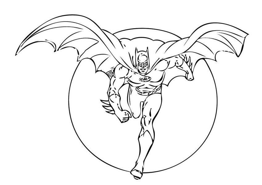310 dibujos de Batman para colorear | Oh Kids | Page 41