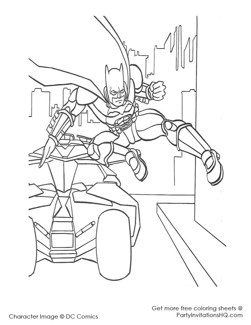 310 dibujos de Batman para colorear   Oh Kids   Page 39
