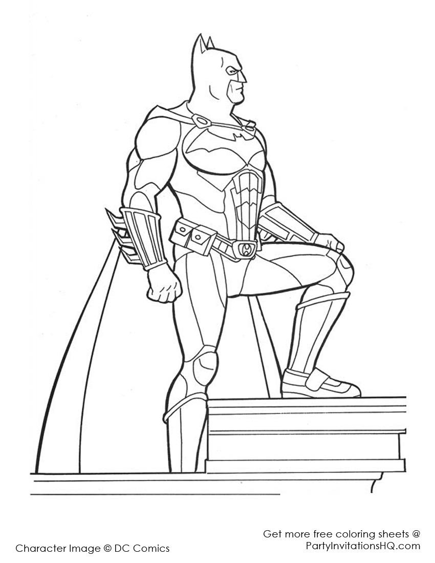 310 dibujos de Batman para colorear   Oh Kids   Page 27