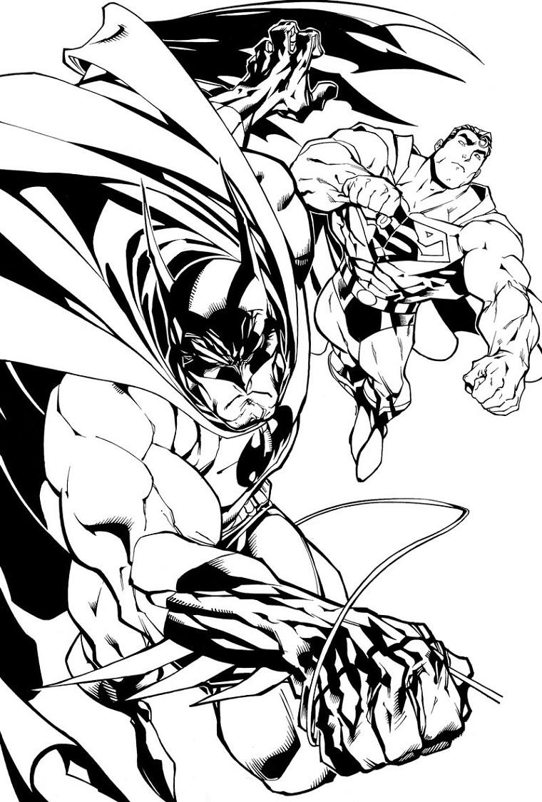 310 dibujos de Batman para colorear | Oh Kids | Page 27