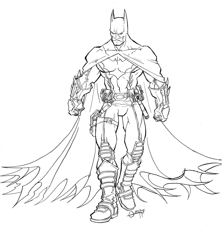 310 Dibujos De Batman Para Colorear Oh Kids Page 9
