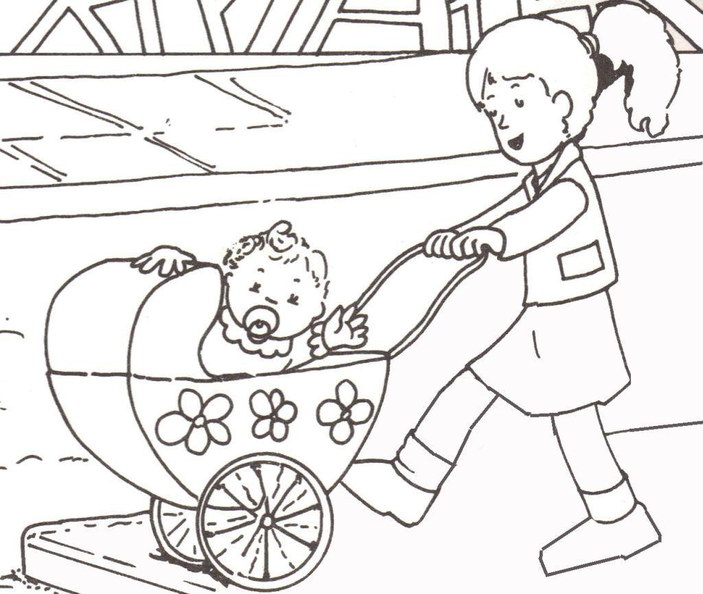 28 dibujos de Bebe lilly para colorear | Oh Kids | Page 1