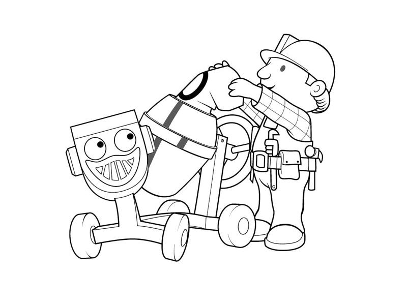 97 dibujos de Bob el constructor para colorear | Oh Kids | Page 2