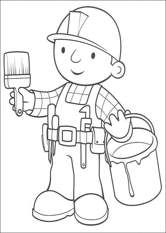 97 dibujos de Bob el constructor para colorear | Oh Kids | Page 8