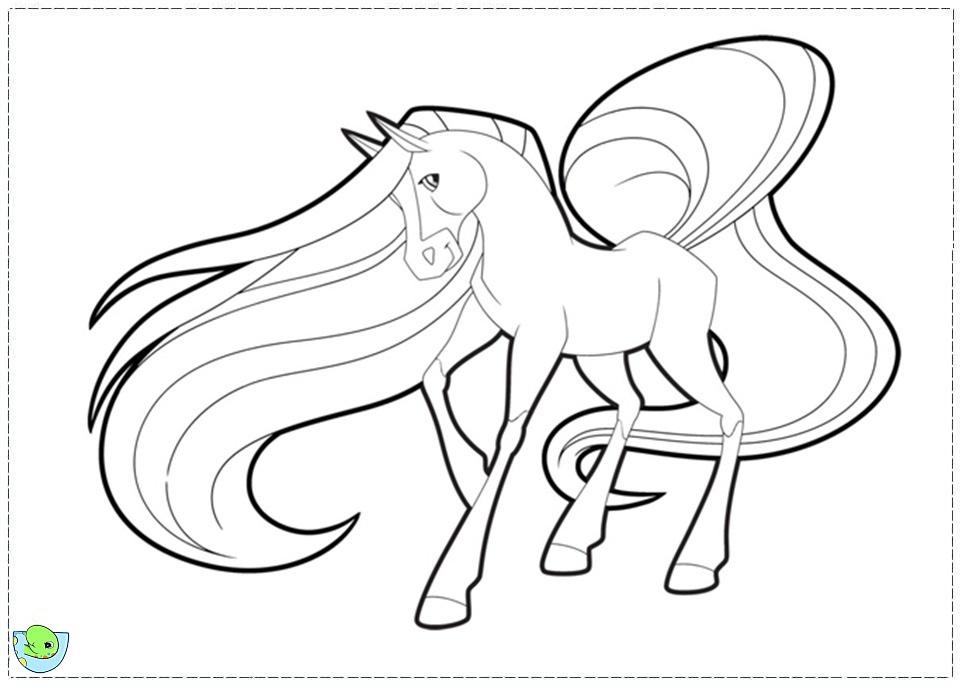 94 dibujos de Caballos encantados para colorear | Oh Kids | Page 1
