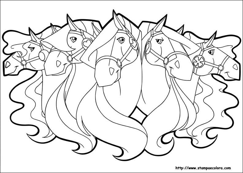94 dibujos de Caballos encantados para colorear   Oh Kids   Page 6