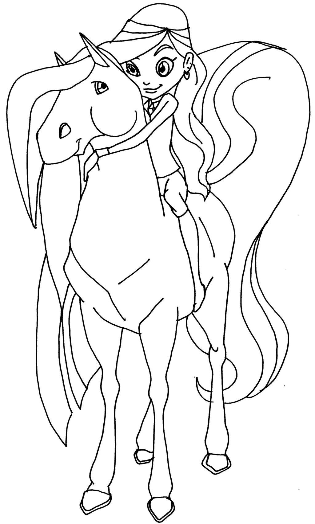 94 dibujos de Caballos encantados para colorear | Oh Kids | Page 9