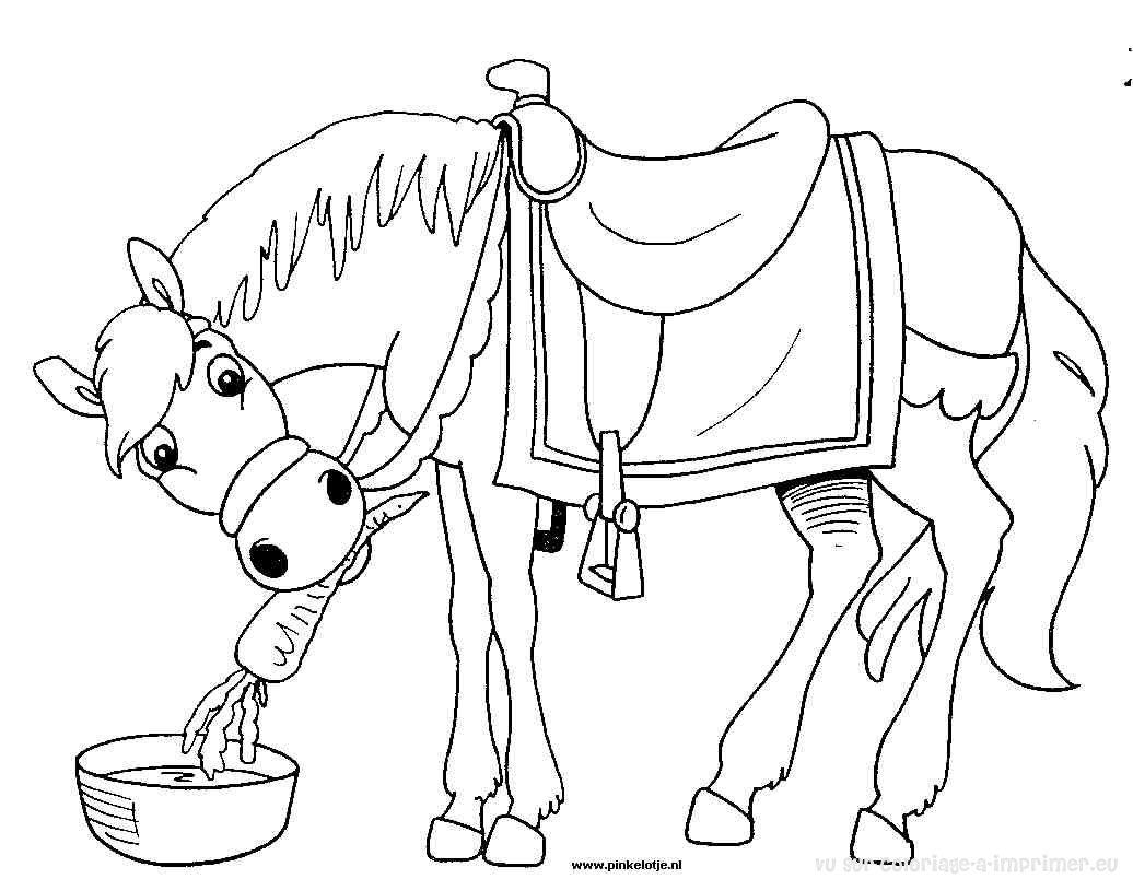 296 Dibujos De Caballos Para Colorear Oh Kids Page 15
