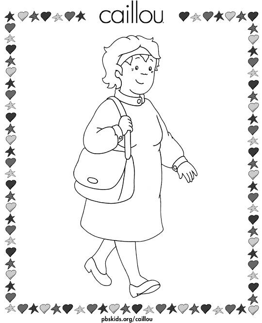 115 Dibujos De Caillou Para Colorear Oh Kids Page 2