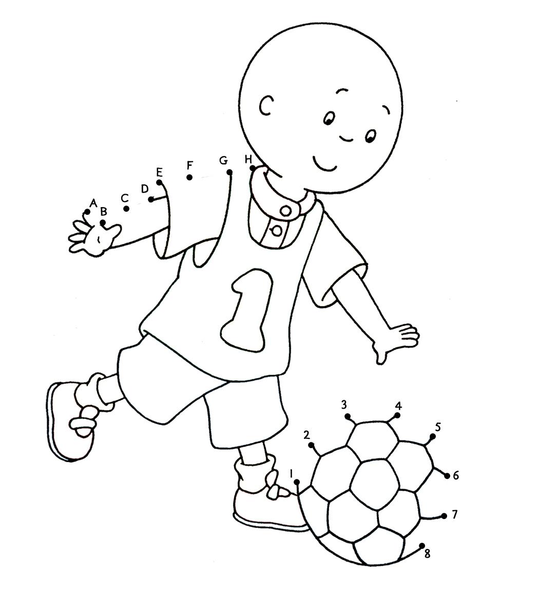 115 dibujos de Caillou para colorear   Oh Kids   Page 5