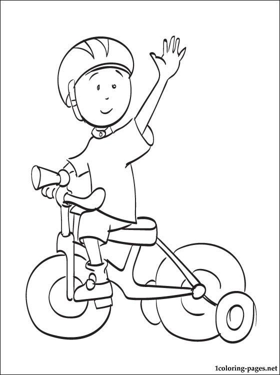 115 dibujos de Caillou para colorear   Oh Kids   Page 11