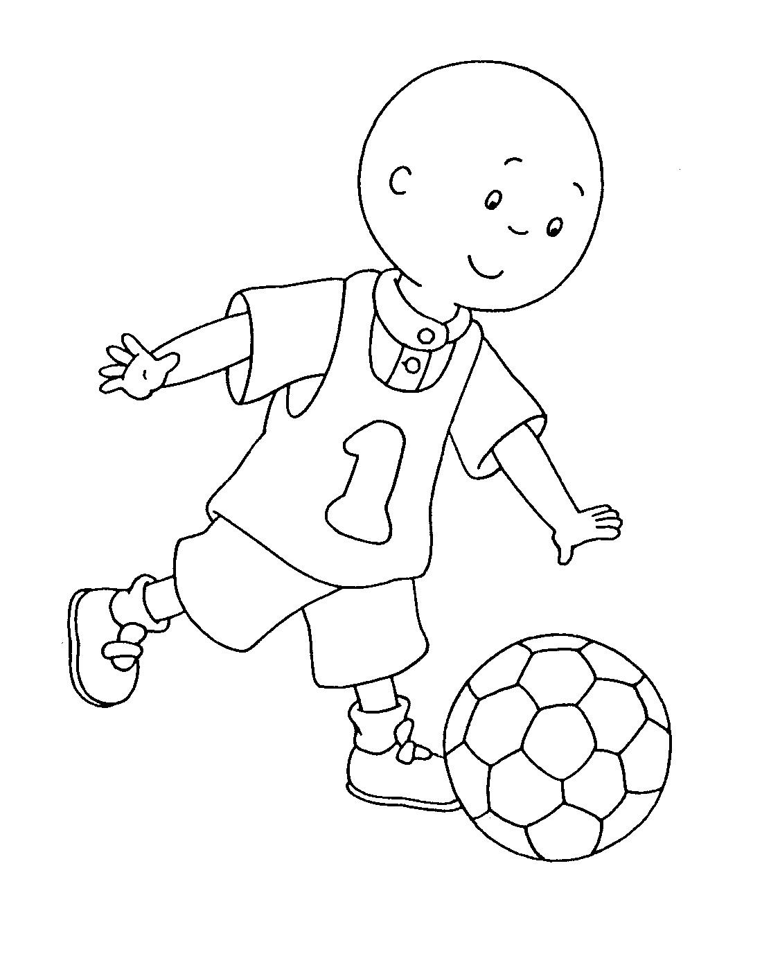 115 dibujos de Caillou para colorear | Oh Kids | Page 11