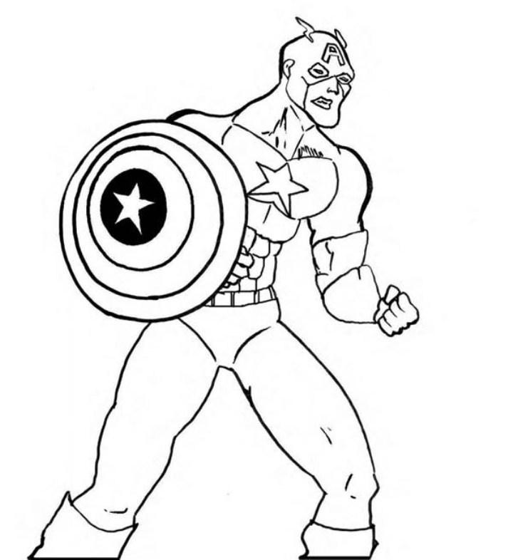 156 dibujos de Capitán américa para colorear  Oh Kids ...