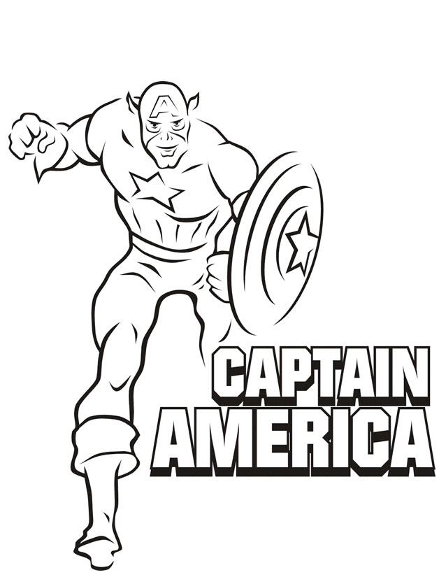 156 dibujos de Capitán américa para colorear | Oh Kids | Page 11
