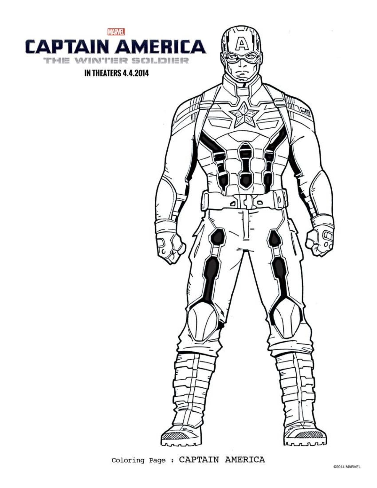 156 dibujos de Capitán américa para colorear | Oh Kids | Page 16