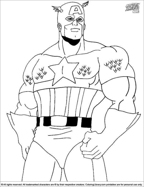 156 dibujos de Capitán américa para colorear | Oh Kids | Page 18