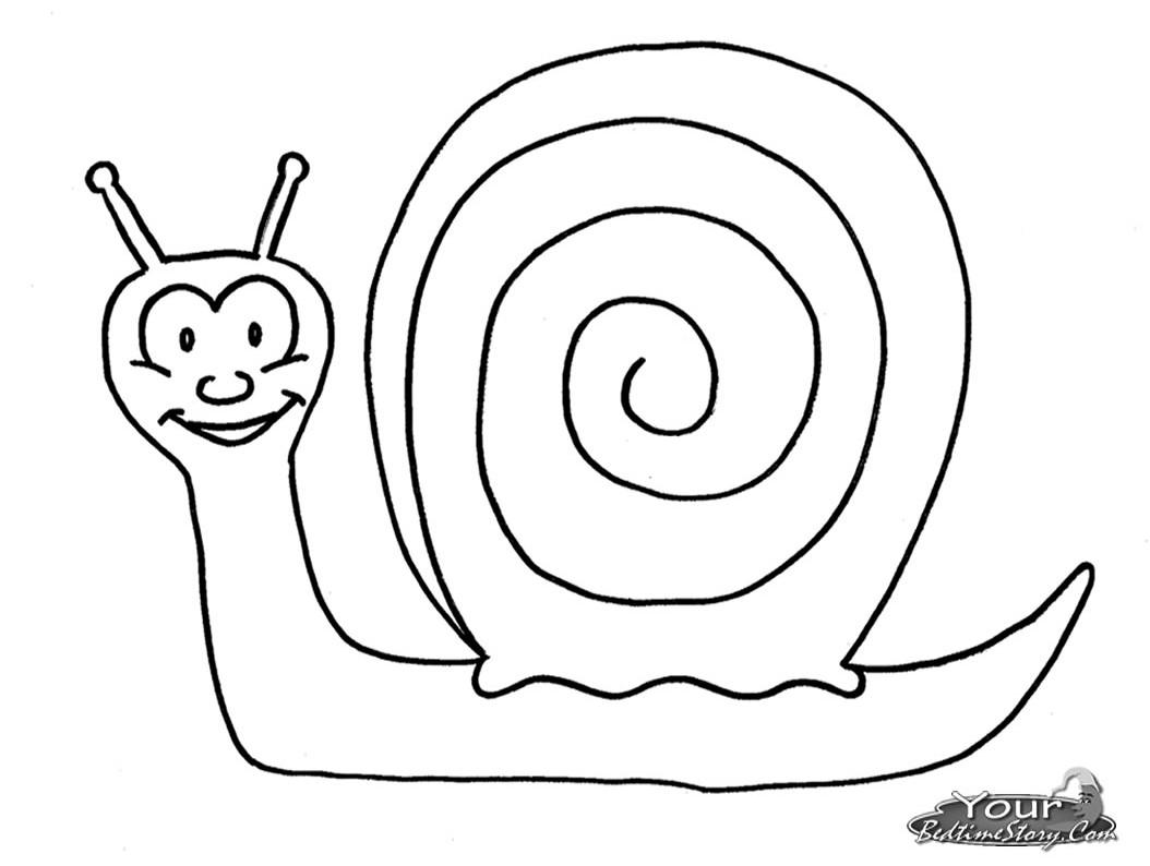51 dibujos de Caracoles para colorear | Oh Kids | Page 1