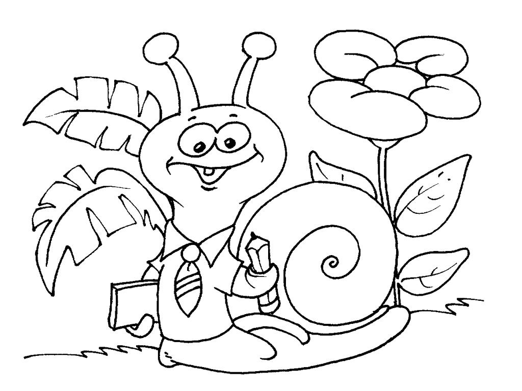 51 dibujos de Caracoles para colorear | Oh Kids | Page 4