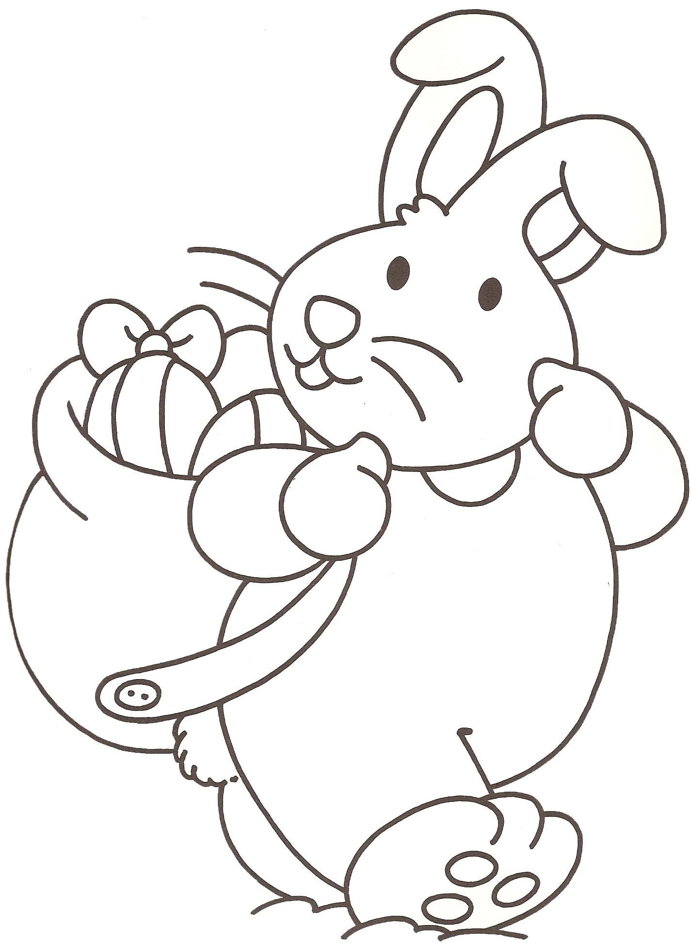 128 dibujos de Conejos para colorear | Oh Kids | Page 4