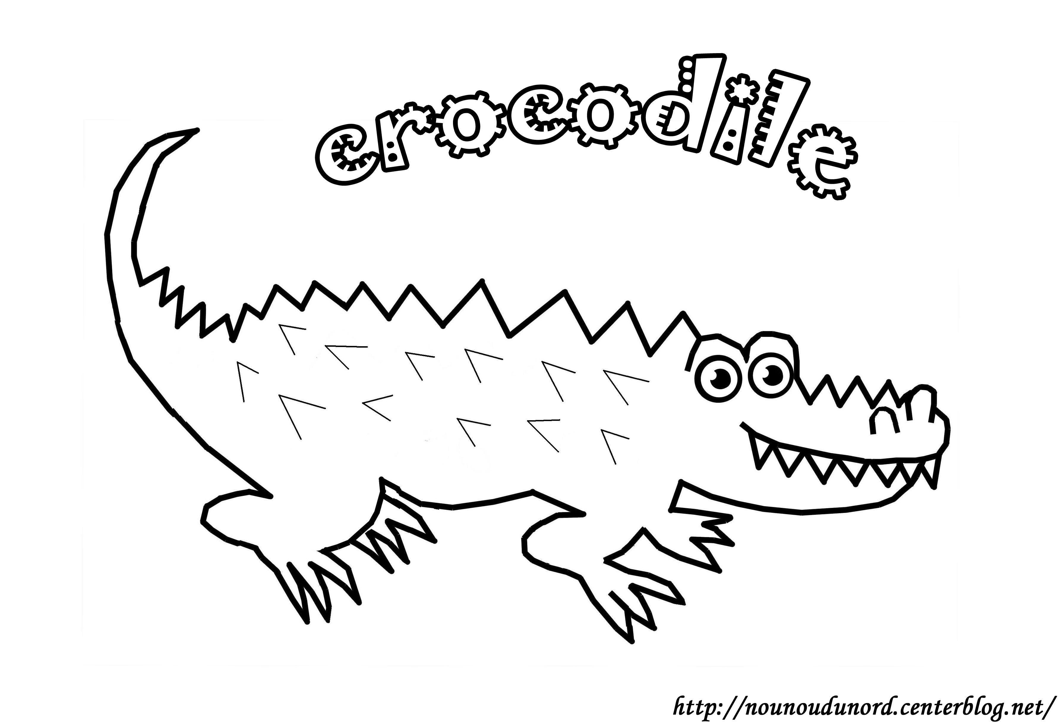 106 dibujos de Cocodrilos para colorear | Oh Kids | Page 2