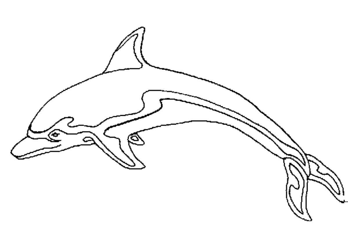 146 dibujos de delfines para colorear oh kids page 2 for Disegni marini da stampare
