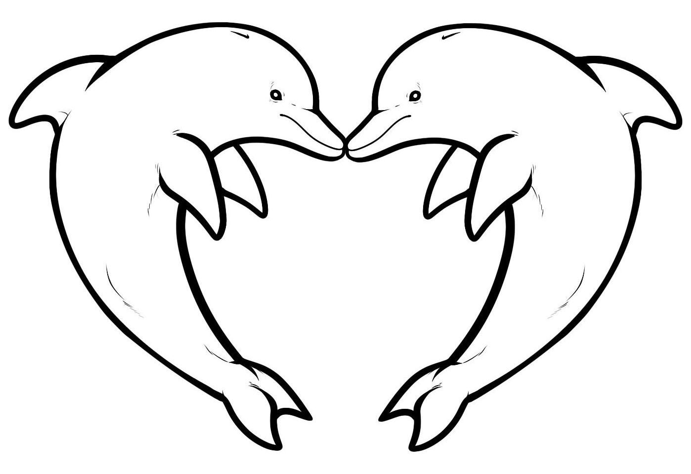 146 Dibujos De Delfines Para Colorear Oh Kids Page 9