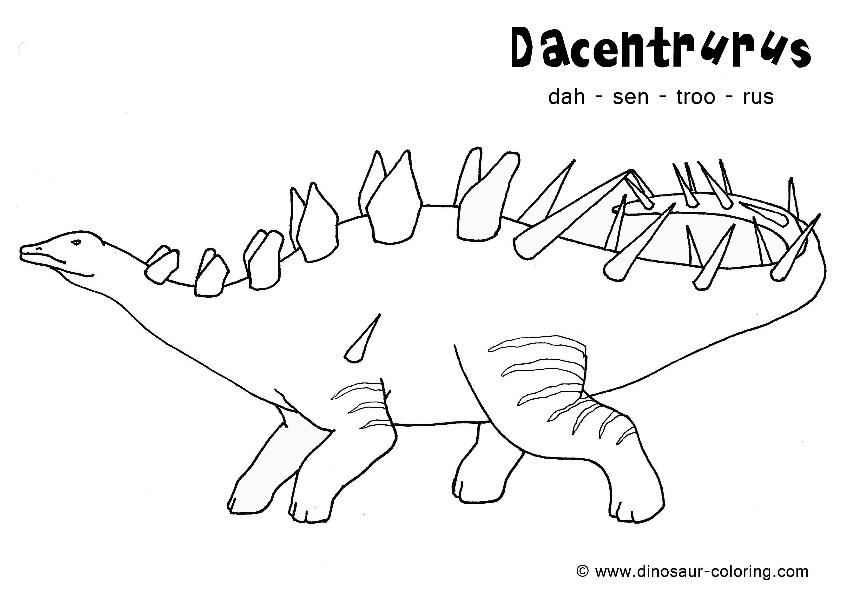 204 dibujos de Dinosaurios para colorear | Oh Kids | Page 3
