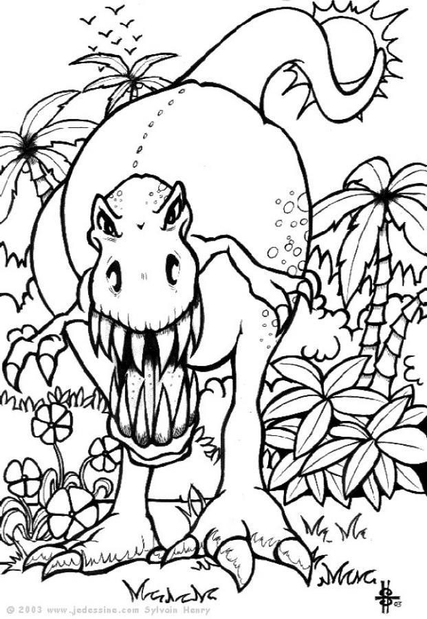 204 Dibujos De Dinosaurios Para Colorear Oh Kids Page 5