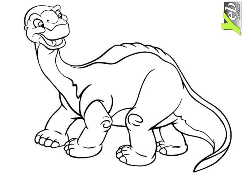 204 dibujos de dinosaurios para colorear oh kids page 8 - Dessin dinosaures ...