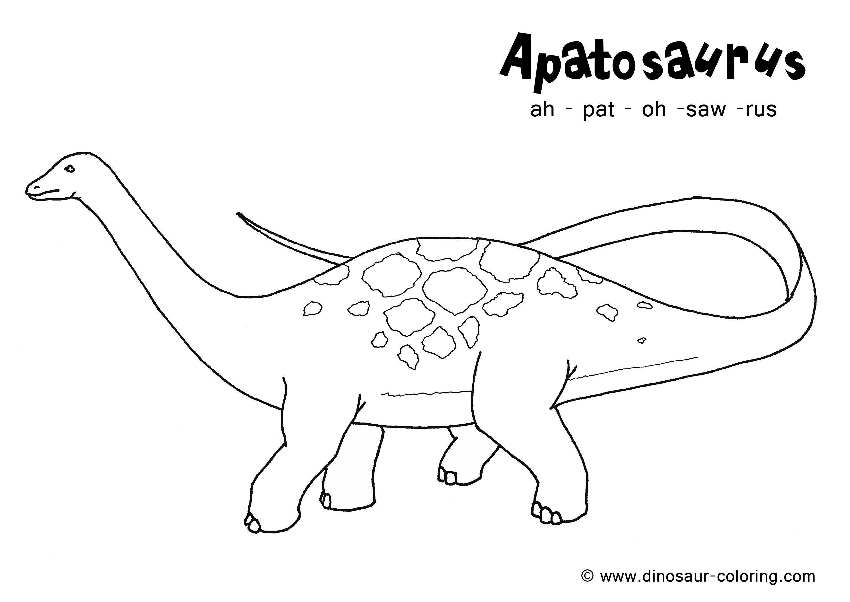 204 dibujos de Dinosaurios para colorear | Oh Kids | Page 10