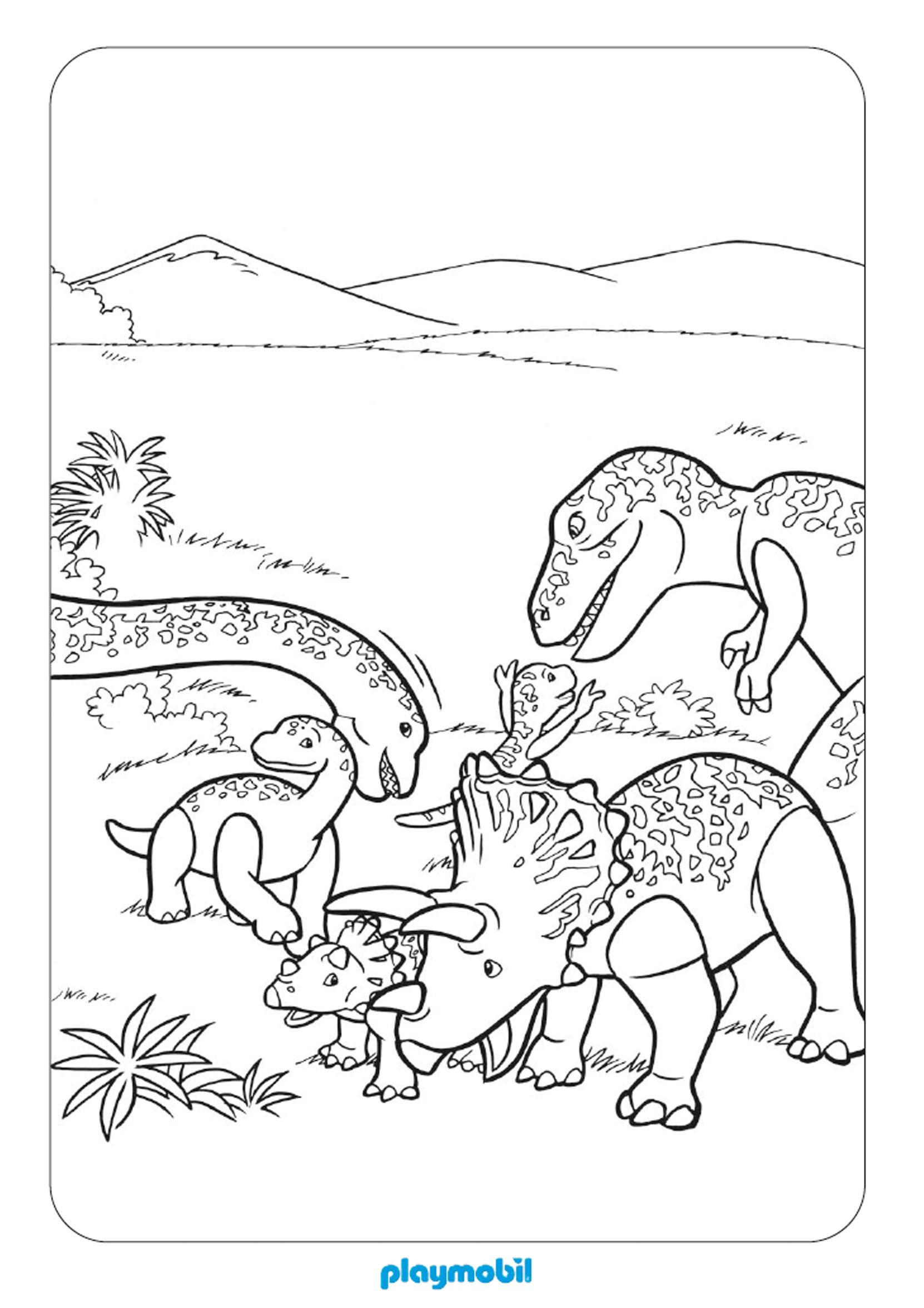204 dibujos de dinosaurios para colorear oh kids page 13 - Coloriage de dinosaure a imprimer gratuit ...
