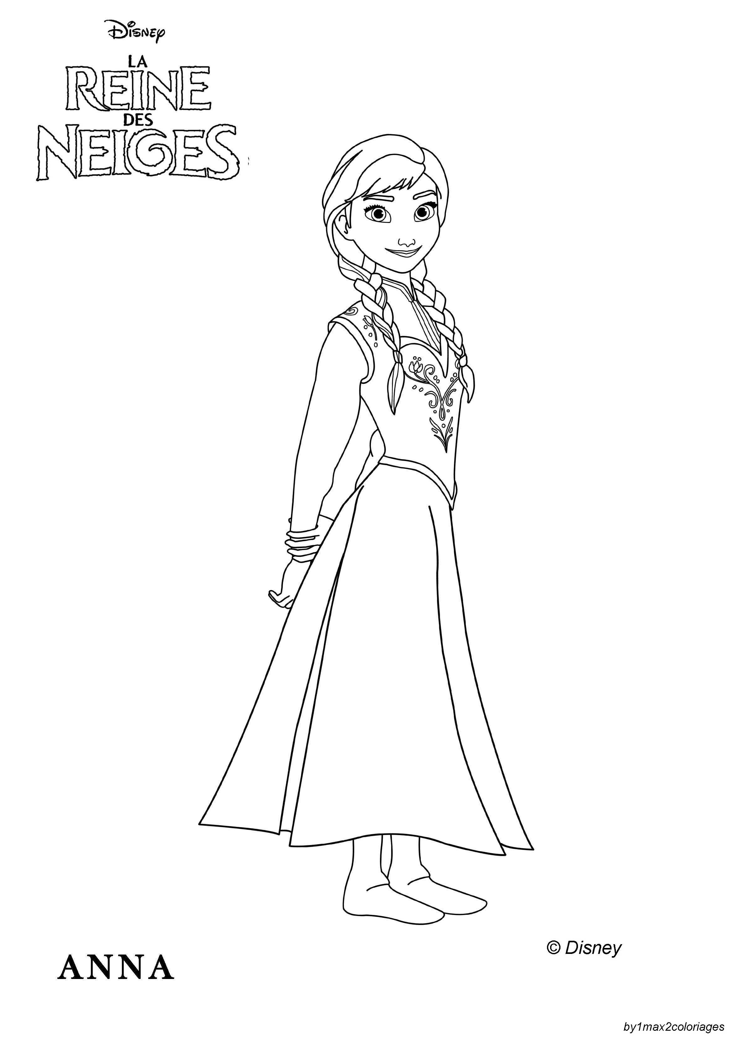144 Dibujos De Disney Frozen Para Colorear Oh Kids Page 3e