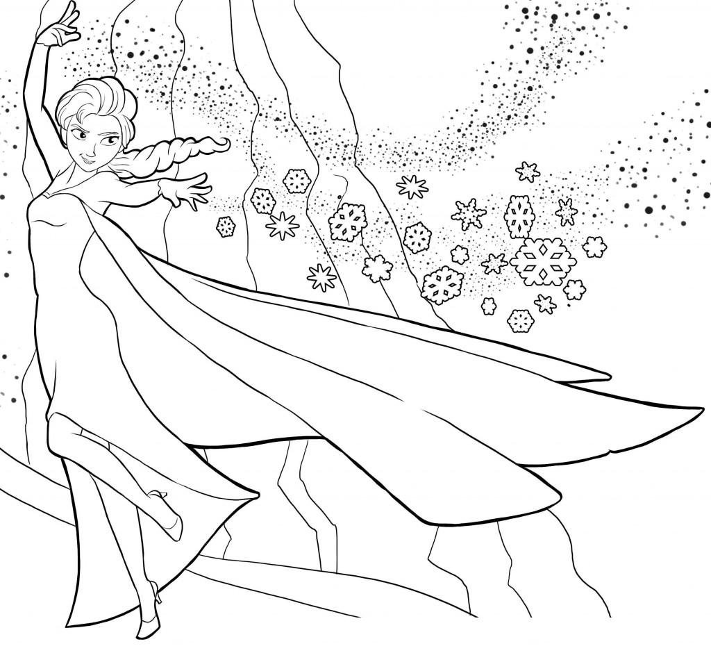 144 dibujos de disney frozen para colorear oh kids page 5e - Coloriage frozen ...