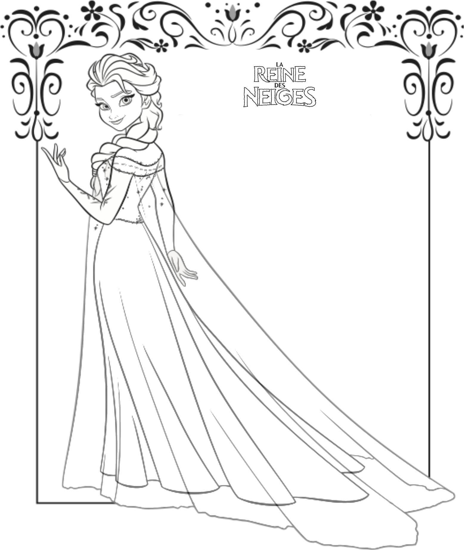 144 dibujos de Disney frozen para colorear  Oh Kids  Page 7e