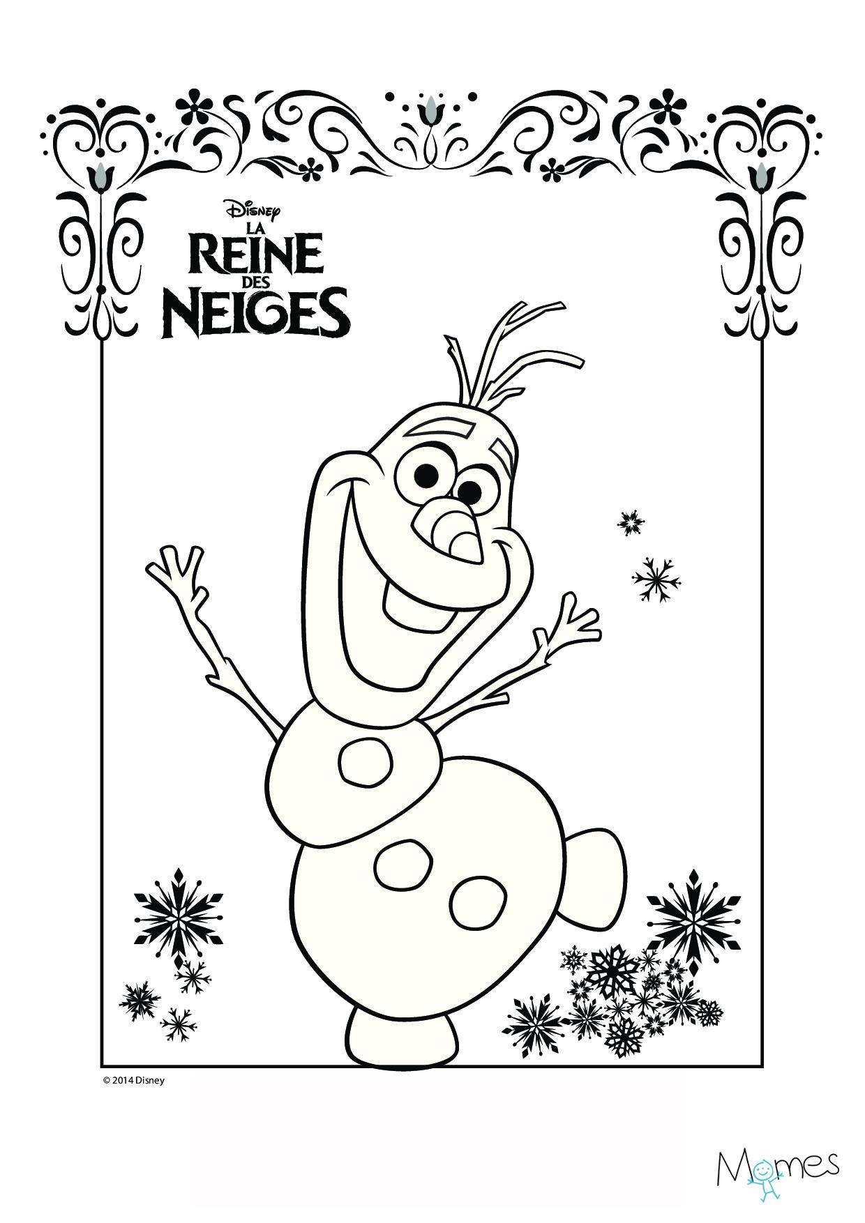 144 dibujos de Disney frozen para colorear | Oh Kids | Page 9e