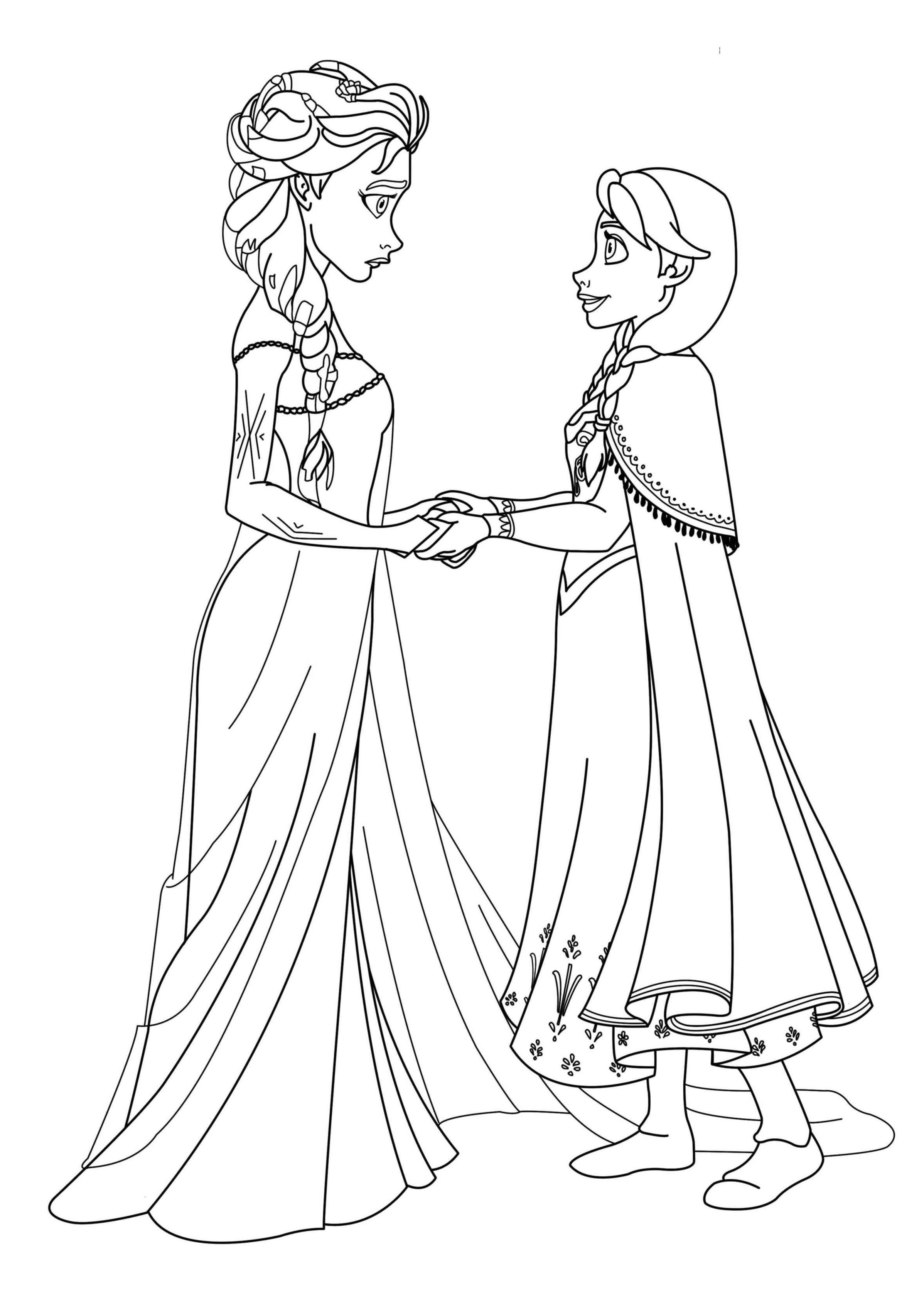144 Dibujos De Disney Frozen Para Colorear Oh Kids Page 9e