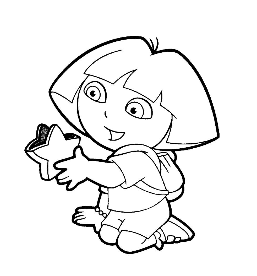 130 dibujos de Dora para colorear | Oh Kids | Page 5