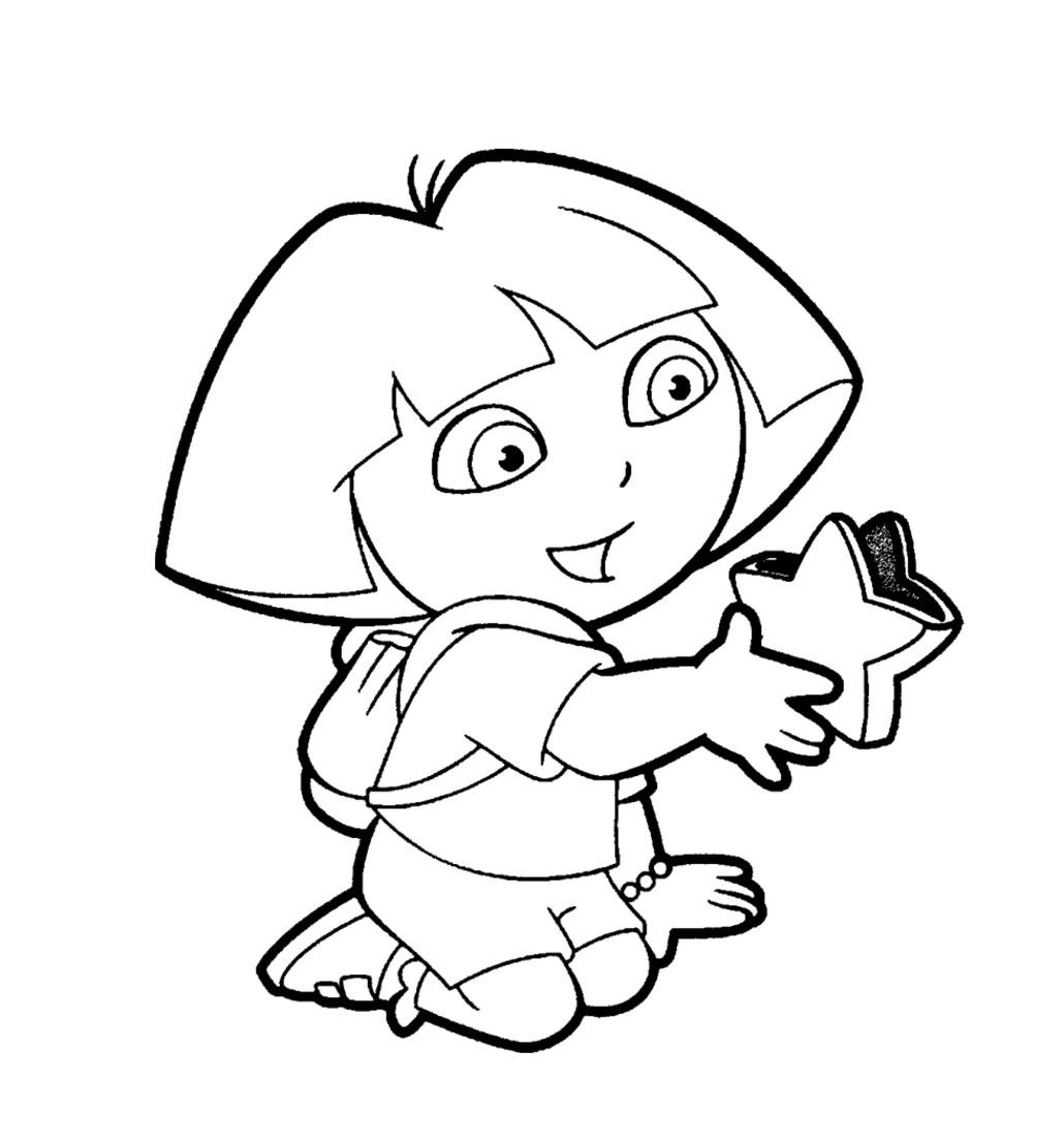 130 dibujos de Dora para colorear | Oh Kids | Page 11
