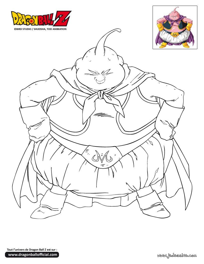 112 dibujos de dragon ball z para colorear oh kids page 3 - Dragon ball z boubou ...
