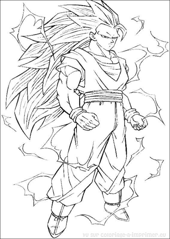 112 Dibujos De Dragon Ball Z Para Colorear Oh Kids Page 4