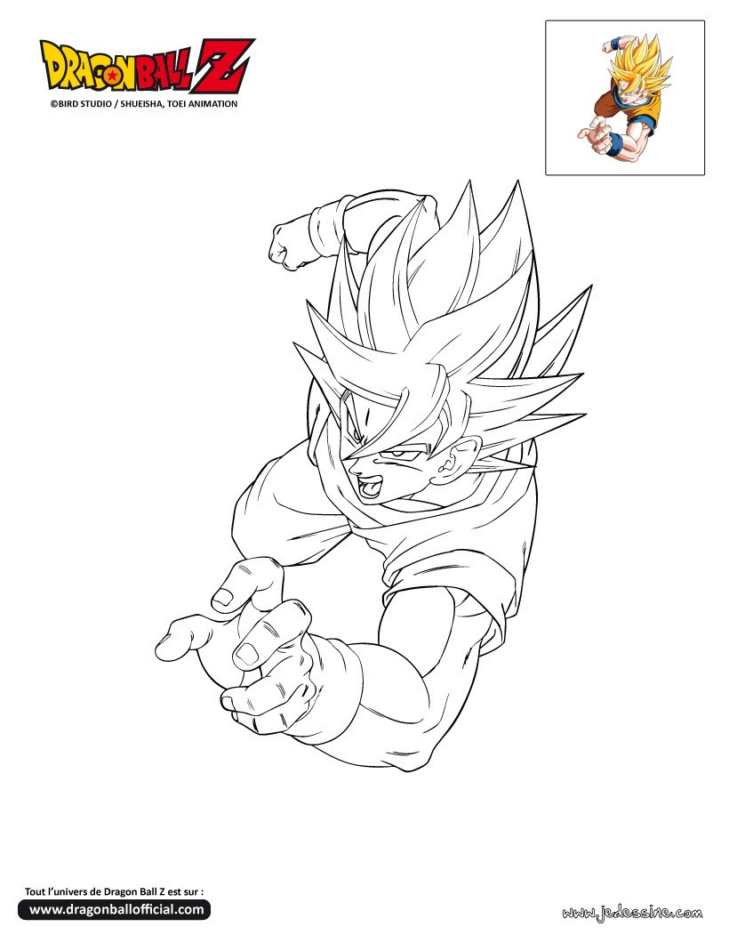 112 dibujos de dragon ball z para colorear oh kids page 4 - Pintura instinto ...